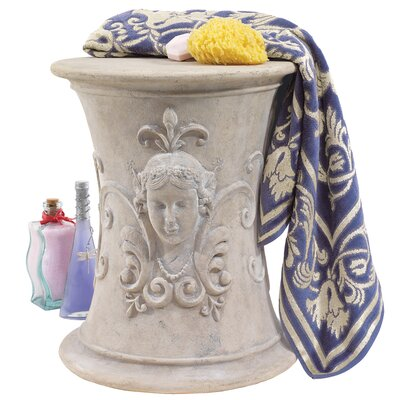 Design Toscano Flora Goddess of Spring Neoclassical French Spa Stool
