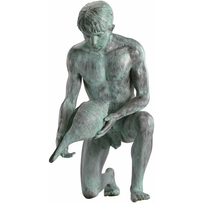 Design Toscano Man with Shell Statue