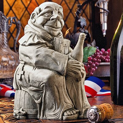 Design Toscano Dom the Monk, Inventor of the Champagne Figurine