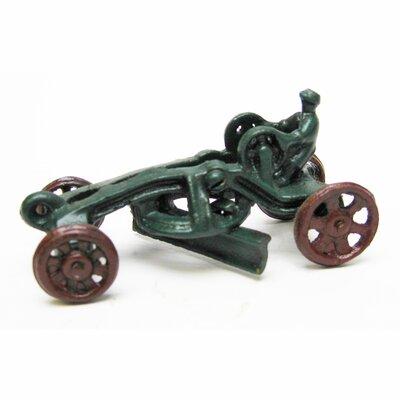 Design Toscano Road Grader Replica Farm Toy Tractor Sculpture