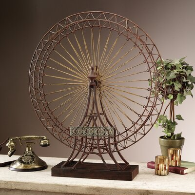 design toscano the grande exposition ferris wheel d cor sculpture reviews wayfair. Black Bedroom Furniture Sets. Home Design Ideas