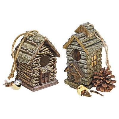Backwoods 7 in x 6 in x 5.5 in Birdhouse