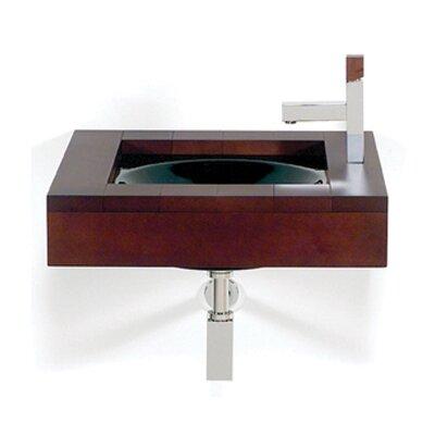 Whitehaus Collection Antonio Miro Iroko Wall Mount Bathroom Sink
