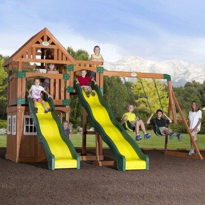 Backyard Discovery Journey Cedar All Cedar Swing Set