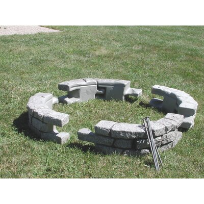 10 in x 24 in. RockLock Curved with Spikes