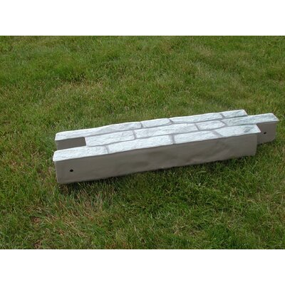 10 in. x 90 in. RockLock Straight Wall Edging