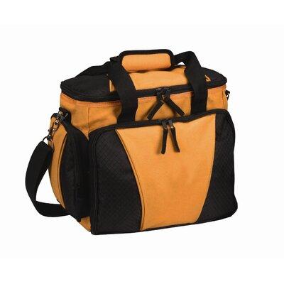 24 Can Picnic Cooler Color: Orange