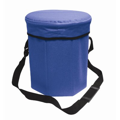 30 Can Padded Seat Cooler Color: Blue