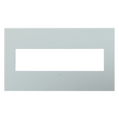adorne 4-Gang Wall Plate (Set of 4) Finish: Pale Blue