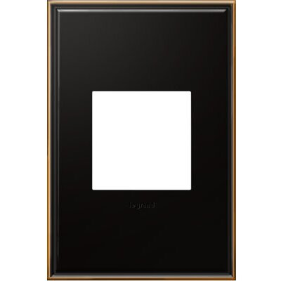 adorne 1-Gang Wall Plate (Set of 4) Finish: Oil-Rubbed Bronze