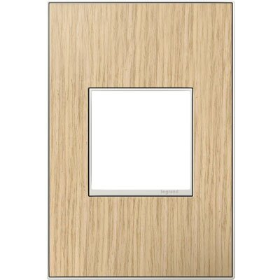 adorne 1-Gang Wall Plate (Set of 4) Finish: French Oak