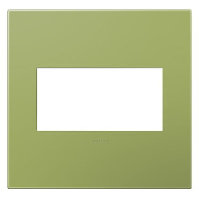 adorne 2-Gang Wall Plate (Set of 4) Finish: Lichen Green