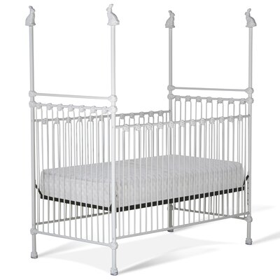4 Poster Crib Color: White Gloss