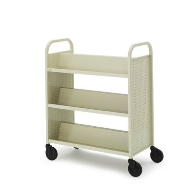 Bretford Manufacturing Inc Double-sided Book Cart