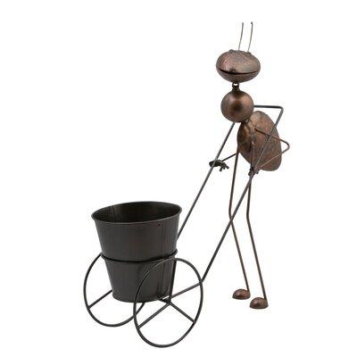 Siena Garden Statue Ameise mit Handwagen