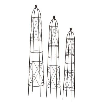 Siena Garden 3-tlg. Obelisken Set