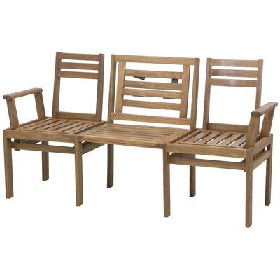 Siena Garden 3-Sitzer Gartenbank aus Akazienholz