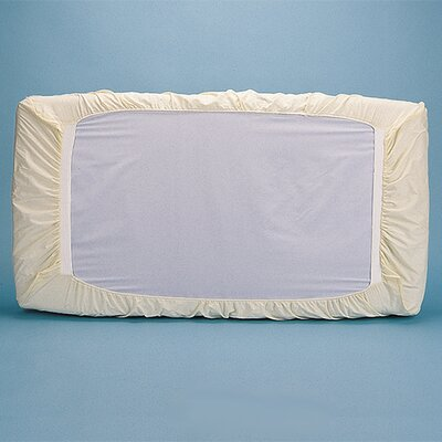 """Natural Cotton Fitted Crib Safety Cover Size: 2"""" H x 21"""" W x 41"""" D"""