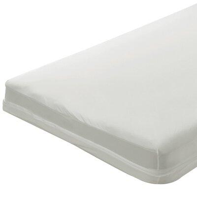 "5"" Zippered Crib Mattress Cover Color: Mint"