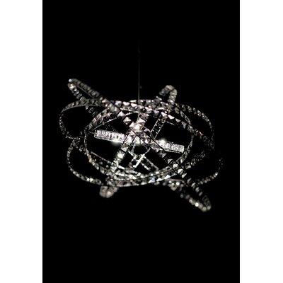Micron Kristall-Pendelleuchte 15-flammig Queen
