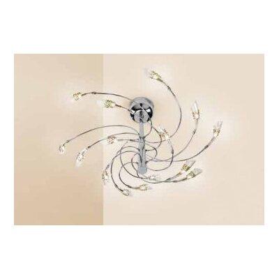 Micron Kristall-Pendelleuchte 15-flammig Symphony