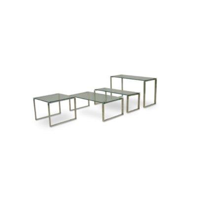 Calvin Glass Console Sofa Table