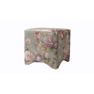 Pineda Accent Cube Color: Gray/Beige