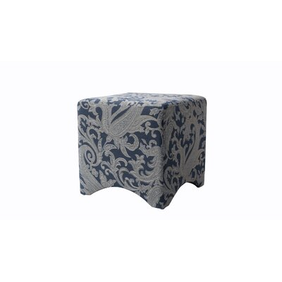 Pineda Accent Cube Color: Dusty Blue