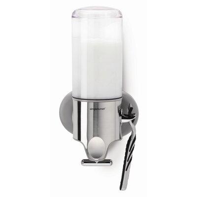 simplehuman Plastic Adhesive Mount Soap Dispenser