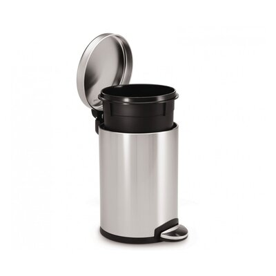 simplehuman 4.5-Litre Mini Round Pedal Bin with Liner