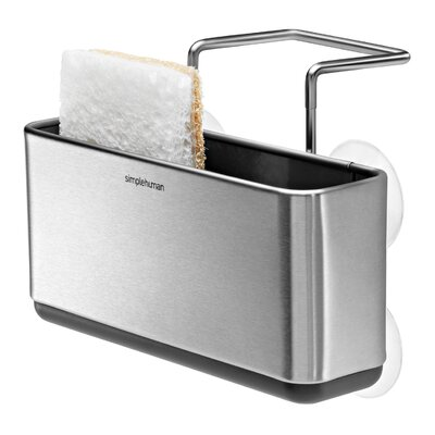 simplehuman Slim Sink Caddy in Brushed Stainless Steel
