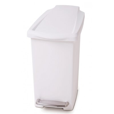 simplehuman 10L Pedal Waste Bin with Liner