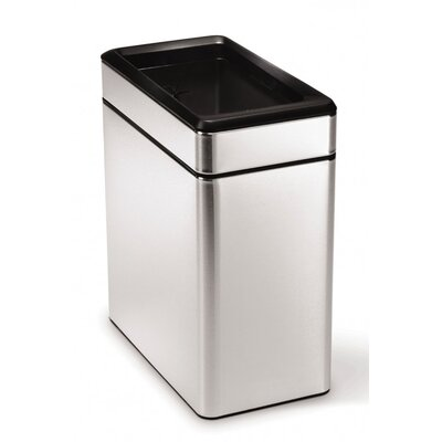 simplehuman 10 Litre Profile Open Bin with Liner