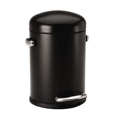 simplehuman 4.5 Litre Retro Pedal Waste Bin with Liner