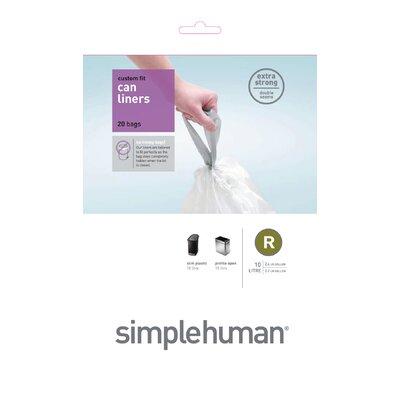 simplehuman 10 Litres Code R Rubbish Bin Liners