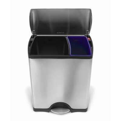 simplehuman Classic Recycler with Removable Liner