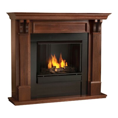 Ashley Gel Fuel Fireplace Finish: Mahogany