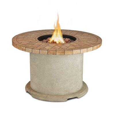 Ogden Concrete Propane Fire Pit Table