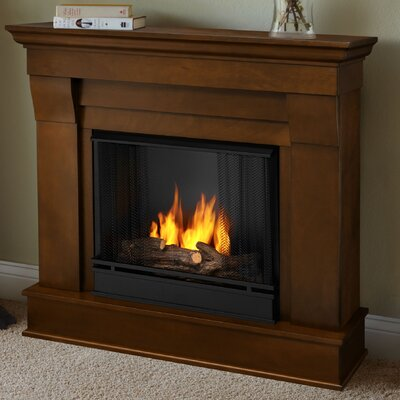 Chateau Gel Fuel Fireplace Finish: Espresso