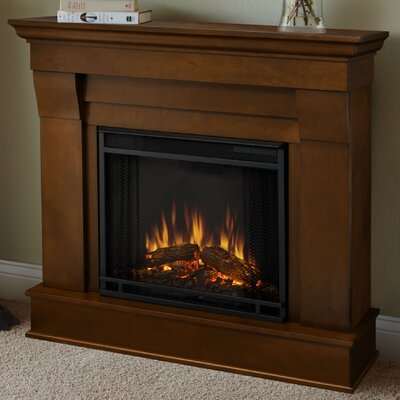 Chateau Electric Fireplace Finish: Espresso