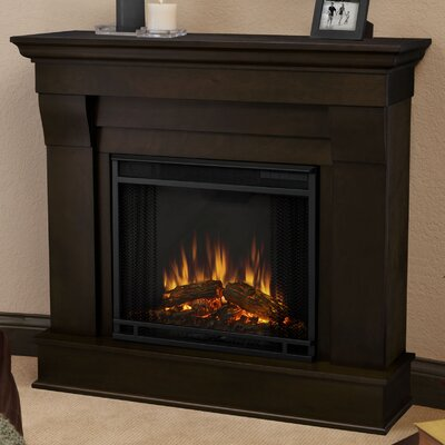 Chateau Electric Fireplace Finish: Dark Walnut
