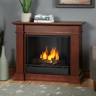 Devin Petite Gel Fuel Fireplace Finish: Dark Espresso