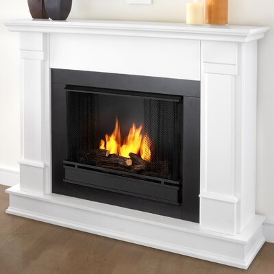 Silverton Gel Fuel Fireplace Finish: White
