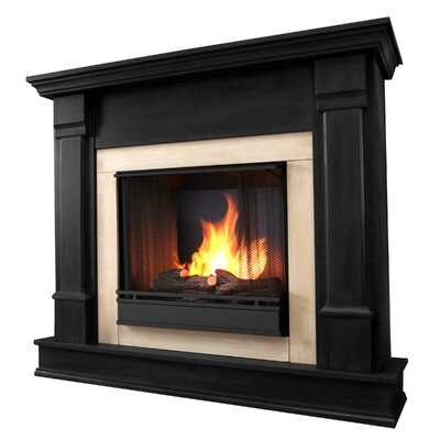 Silverton Gel Fuel Fireplace Finish: Black