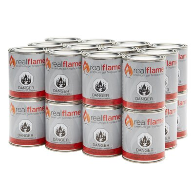 13 Oz. Gel Fuel Size: 24 Cans