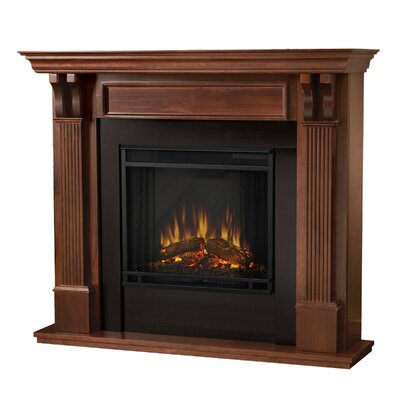 Ashley Electric Fireplace Finish: Mahogany