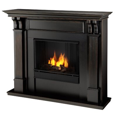 Ashley Gel Fuel Fireplace Finish: Black Wash