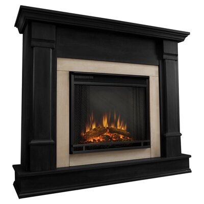 Silverton Electric Fireplace Finish: Black