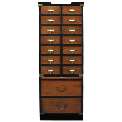 16 Drawers Accent Chest