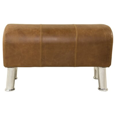 Pommel Upholstered Bench Size: Small